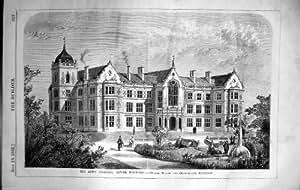 Constructeur 1862 inférieur d'architecture de Norwood Tillot Chamberlain d'hôpital de juifs