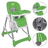 Froggy® Kinderhochstuhl BHC01 zusammenklappbar in Grün