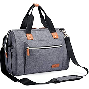 Diaper Bag Multi-Functional Light Weight and Lots of Pockets Nappy Bag Travel Bag for Mom//Dad//Baby Blue GZMM001 Blue
