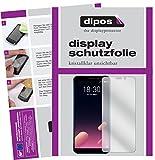 dipos I 2X Schutzfolie klar passend für Meizu M6S Folie Displayschutzfolie