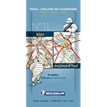 Paris - Ch??lons Centenary Maps - Pack 011 (Michelin Historical Maps) by Michelin (2014-01-14)