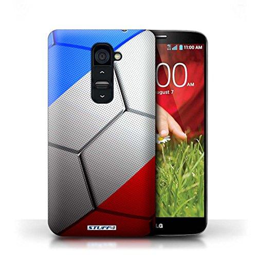 Kobalt® Imprimé Etui / Coque pour LG G2 / France/Français conception / Série Nations de Football France/Français