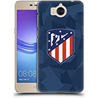 Official Atletico Madrid Third 2017/18 Crest Kit Hard Back Case for Huawei Y6 (2017) / Nova Young