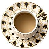 Fengbingl-hm Espressotassen und Untertassen Porzellanteetasse Und Untertasse Mit Blumenmuster Britische Teetassen Porzellanteetasse Aus Porzellan Espressotasse aus Porzellan