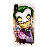 Coque iPhone XS Max Joker Smile BD Comics Cartoon Manga