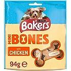 Bakers Mini Bones Dog Treats with Tasty Chicken, 94g