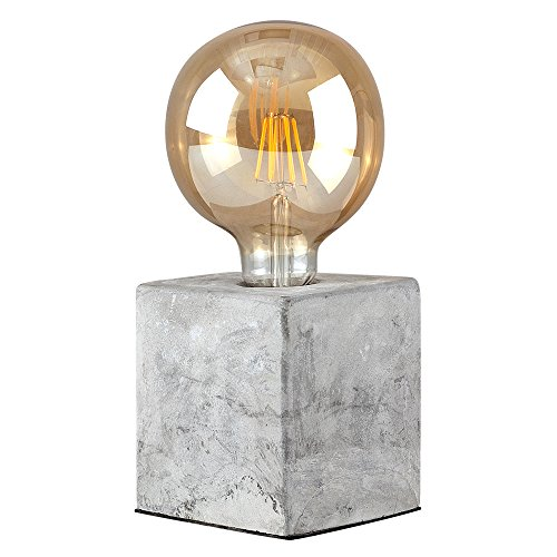 retro-style-cube-design-cement-stone-effect-table-lamp-base