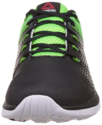 Reebok ZSTRIKE ELITE Scarpe da corsa da uomo black-solar green-bright green-white