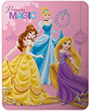 Disney Princess Decke, Fleece, Rosa, 110 x 140 cm
