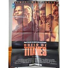 Original Argentine Movie Poster Duelo De Titanes Remember The Titans Denzel Washington