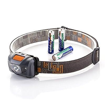 Stirnlampe LED Kopflampe 300LM LED Lampe Kopfleuchte leichte komfortable Taschenlampe verstellbare Scheinwerfer für Wandern/ Fahrrad/ Laufen/ Angeln/ Arbeiten