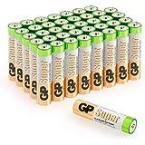 Batterien AAA Micro Super Alkaline Vorratspack 40 Stück GP Batteries