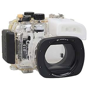 Polaroid SLR Caisson étanche de plongée pour l'appareil-photo Canon G15 Digital