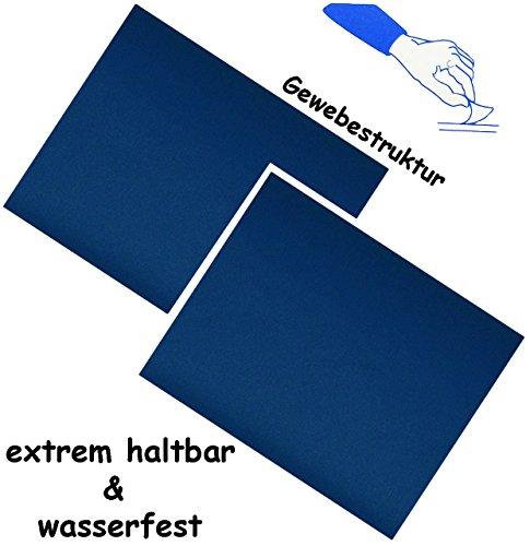"""Preisvergleich Produktbild 6 Stück _ selbstklebende Reparatur Sticker - festes & stabiles - Camping Nylon - """" kräftiges blau """" - wasserfest & wasserdicht - Aufkleber / Kleber - Flicken - für Campingzelt - Schirme / Segeln Luftmatratze - Bekleidung Regenartikel / ideal für Leder Sofa - Regenbekleidung - Reparaturflicken Camping - außen & innen / wetterfest"""