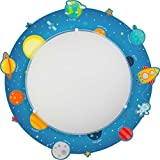 LED Lampe Kinderzimmer Decke Wand Deckenleuchte Weltall 41346 Neutralweiß 840lm Mädchen & Jungen
