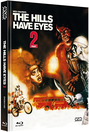 Hills have Eyes 2 - Im Todestal der Wölfe [Blu-Ray+DVD] - uncut - auf 222 limitiertes Mediabook Cover D [Limited Collector's Edition] [Limited Edition]