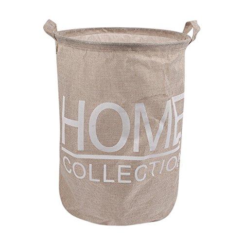TianranRT Schmutzig Kleidung Lagerung Korb Wasserdicht Tier Leinwand Bettzeug Wäsche Kleidung Korb Falten Lagerung Box (C)