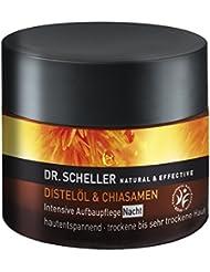 Dr. Scheller Distelöl und Chiasamen Intensive Aufbaupflege Nacht trocken bis sehr trockene Haut, 50 ml