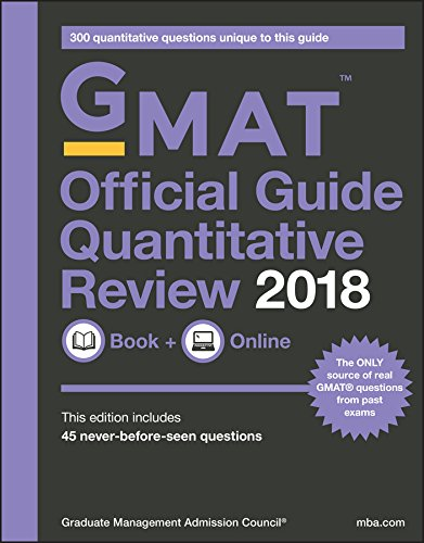 GMAT Official Guide 2018 Quantitative Review: Book + Online (Official Guide for Gmat Quantitative Review) (English Edition)