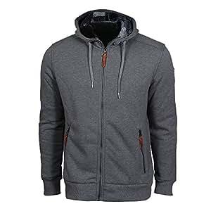 Campagnolo veste polaire à capuche homme-gris 50  - Gris