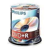 Philips DVD+R ruwe DVD+R 100er