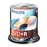 Philips Dvd + R De 4,7 Gb / 120 Min / 16X Tarrina (100 Disc)