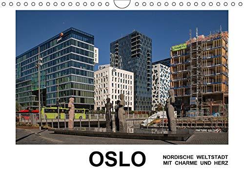 Oslo - Weltstadt mit Charme und Herz (Wandkalender 2019 DIN A4 quer): Norwegens Hauptstadt erfreut sich großer Beliebtheit wegen seiner zahlreichen ... (Monatskalender, 14 Seiten ) (CALVENDO Orte)