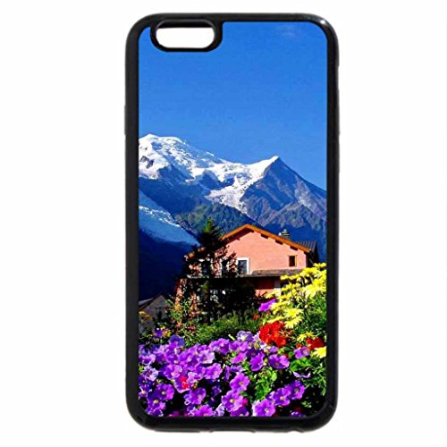 iPhone 6S / iPhone 6 Case (Black) Mountain rest