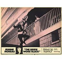The Bride Wore negro Póster de película F 11x 14en–28cm x 36cm Jeanne Moreau Claude Rich Jean-Claude Brialy Michel ramo Michael (Michel) Lonsdale Charles Denner