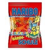 Haribo Bären-Schule, Gummibärchen, Weingummi, Fruchtgummi, Im Beutel, Tüte, 200 g