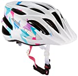 Alpina Kinder Radhelm FB JR 2.0 Fahrradhelm, White-Butterfly, 51-55