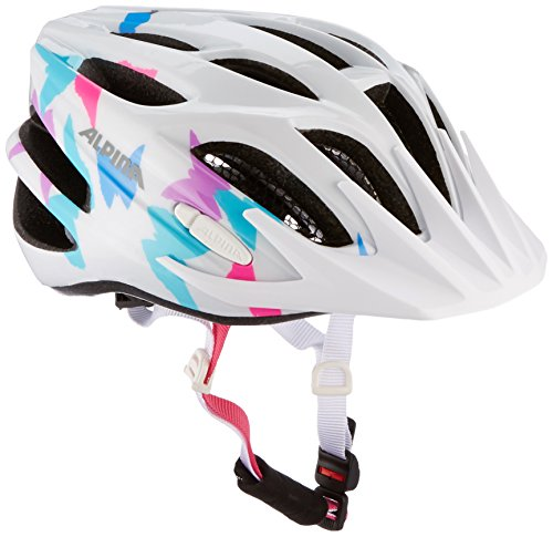 Alpina Kinder Radhelm FB 2.0, white butterfly, 51-55, 9678121