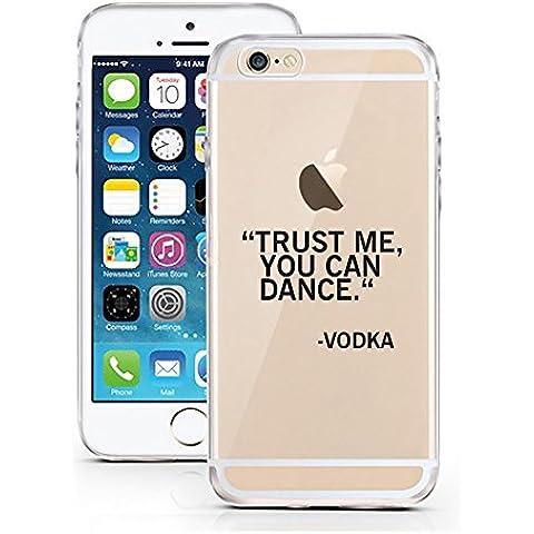 iPhone Cover di licaso® per il Apple iPhone 7 di TPU Silicone Vodka Modello molto sottile protegge il tuo iPhone 7 con stile Cover e Bumper (iPhone 7, Vodka)