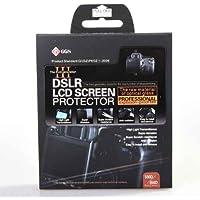 deep-deal Protección de pantalla de cristal para CANON EOS 450D 500D T1i XSi ,Protectores de Pantalla para Canon 1100D - Láminas de protección / Clear Screen Protectors