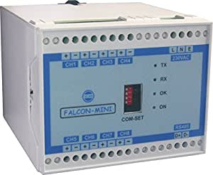 4-20 mA to RS485 (8 Channel) Converter with 230V AC Supply