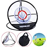 Ueasy Portable Golf Training Chipping Net Hitting Aid Golf Practice Net Cage Indoor Outdoor Bag Perfect for Short Accuracy Practice