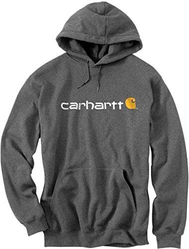 carhartt-sweatshirt-hooded-signature-logo-100074-grossexs-farbecharcoal-heather