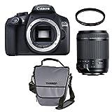 Canon EOS 1300D Kit mit Objektiv Tamron 18-200mm VC + UV-Filter + Tasche