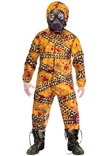 BOYS QUARANTINE ZOMBIE COSTUME - SMALL (5 - 7 - Walking Dead Kid Kostüm