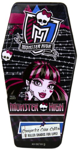 Markwins 9431810 - Monster High Lipgloss Sarg