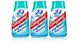 3X Colgate 2 in 1 Toothpaste & Mouthwash ICY Blast Whitening 100ml Travel
