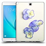 Official Olivia Joy StClaire She Filled the Pages of Her Life With Flowers On The Table Soft Gel Case for Samsung Galaxy Tab A 9.7