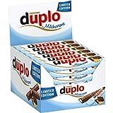 40 Ferrero Duplo Milchcreme limeted Edition a 18 g gefüllte Schokolade mit Nougatcreme und Waffelfüllung