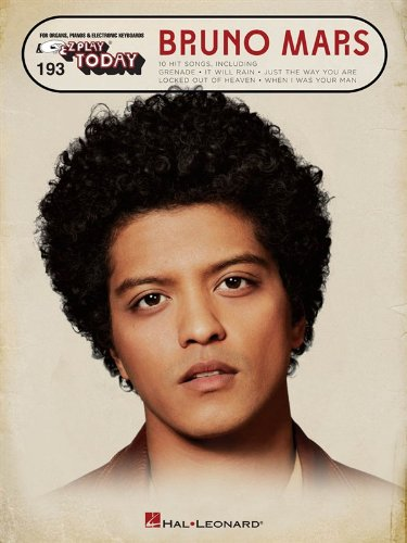 E-Z Play Today Vol. 193: Bruno Mars