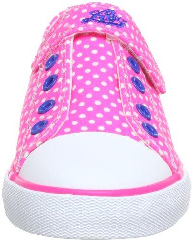 Lico 180263, Baskets mode fille Rose (Pink/Blau)