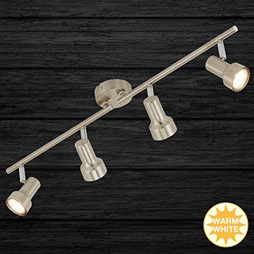Briloner LED-Deckenleuchte 2843-042 matt-Nickel Metall Downlight/Strahler/Flutlicht 4002707301004 -