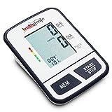 Healthgenie BPM02T Digital Upper Arm Talking Blood Pressure Monitor (Multicolor)