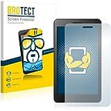 2x BROTECT HD-Clear Protector Pantalla Huawei MediaPad T1 7.0 Película Protectora – Transparente, Anti-Huellas