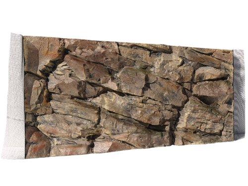 Aquarium Rückwand 3D Felsen 80x40 bei Robizoo
