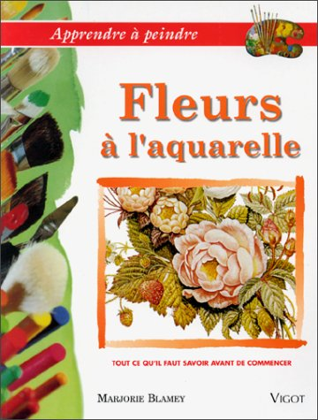 Fleurs à l'aquarelle par Marjorie Blamey